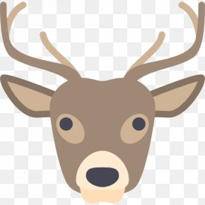 Deer - Reindeer Icon PNG
