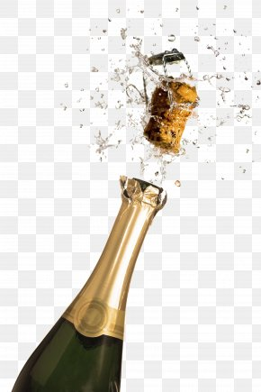Champagne Popping - Champagne Wallpaper PNG