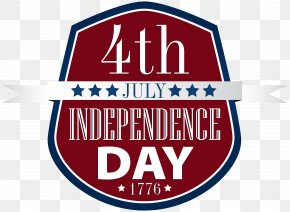 4th July Badge Clip Art Image PNG