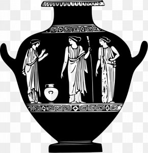 Greece - Pottery Of Ancient Greece Vase PNG