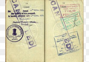 Passport - Indian Passport Indian Passport Identity Document Travel Visa PNG