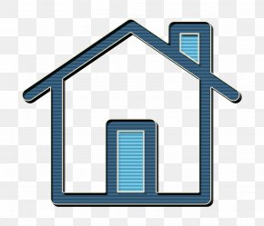 Roof Home - Linear Color Web Interface Elements Icon Home Icon Buildings Icon PNG