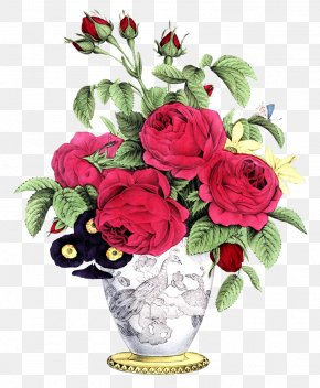 Flower Drawing - Flower Bouquet Floristry Flower Delivery Rose PNG