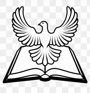 Holy - Bible Doves As Symbols Religious Text Christian Cross PNG