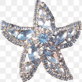 Starfish - Earring Jewellery Brooch Imitation Gemstones & Rhinestones Costume Jewelry PNG