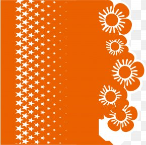 Orange Flower Background - Orange Flower PNG