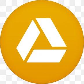 Google Drive - Text Symbol Brand Yellow PNG
