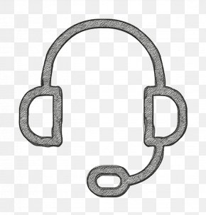 Metal Support Icon - Ecommerce Set Icon Headphones Icon Technology Icon PNG
