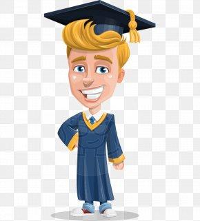 School - Academic Dress Graduation Ceremony Graduate University Cartoon Clip Art PNG