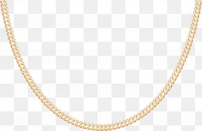 Gold Jewelry Necklace - Necklace Chain Metal Body Piercing Jewellery PNG