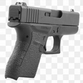 Glock 43 Firearm Pistol Grip Magazine PNG