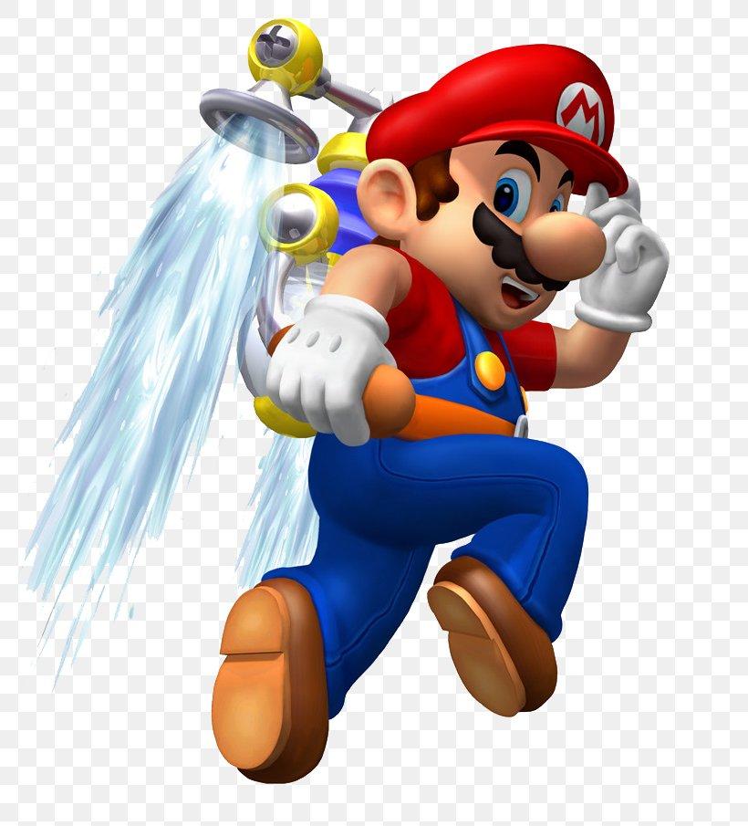 Super Mario Sunshine Super Mario 64 Super Mario 3D Land Super Mario World Super Mario Odyssey, PNG, 784x905px, Super Mario Sunshine, Action Figure, Art, Cartoon, Fictional Character Download Free