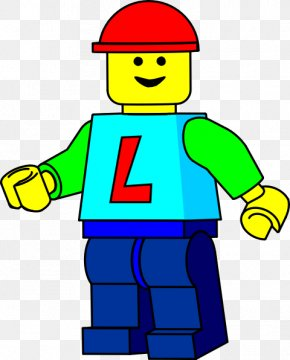 Lego Man Black And White - Lego Minifigures Free Content Clip Art PNG