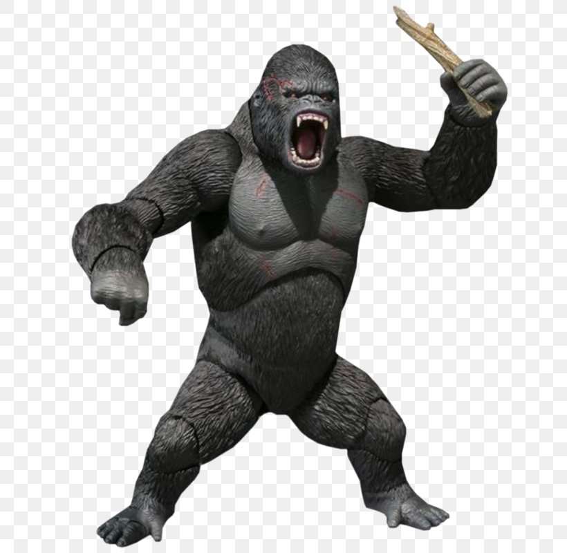 Gorilla King Kong Killing Of Harambe, PNG, 800x800px, Gorilla, Action Figure, Aggression, Display Resolution, Fictional Character Download Free