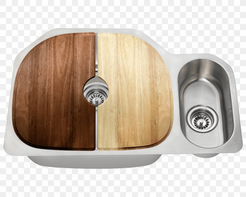 Kitchen Sink Stainless Steel Brushed Metal Kitchen Sink, PNG, 1000x800px, Sink, Bowl, Brushed Metal, Hardware, Home Depot Download Free