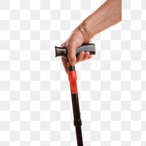 Walking Stick Ends - Assistive Cane Walking Stick Tool Hand PNG