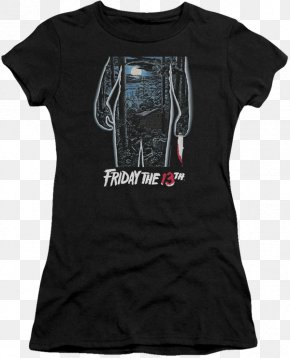 A Nightmare On Elm Street T Shirt - Jason Voorhees Friday The 13th Part III Slasher Film PNG