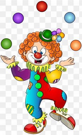 Clown Transparent Clip Art Image - Clown Circus Clip Art PNG