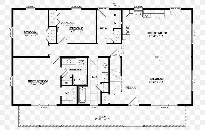 Log Cabin House Plan Cottage Floor