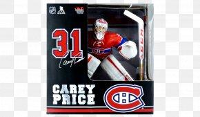 Carey Price - 2016–17 NHL Season Montreal Canadiens New York Rangers Ice Hockey Goaltender PNG