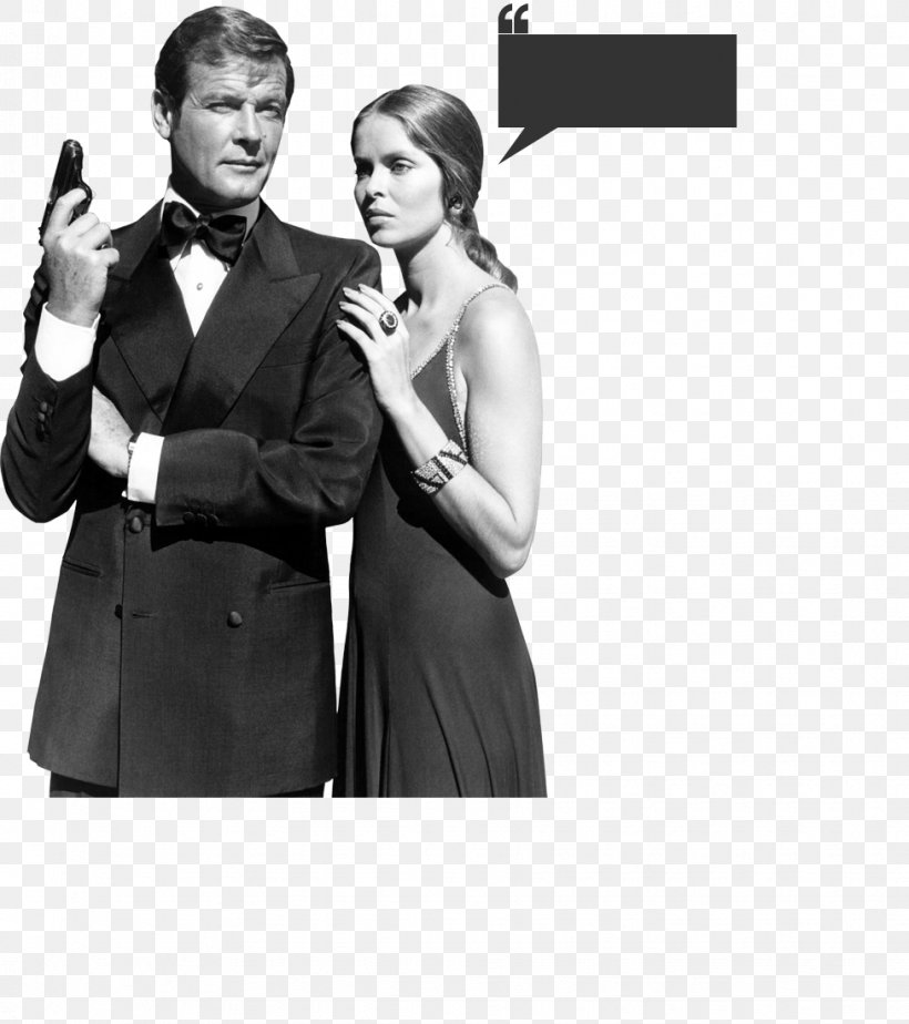 James Bond Photograph Spy Film Actor Black And White Png