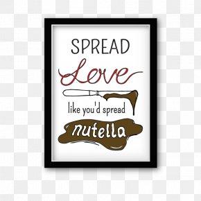 Nutella Plus - Logo Brand Rectangle Font PNG