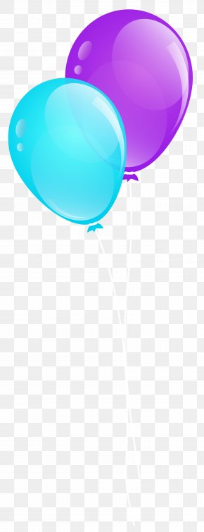 Blue And Purple Balloons Clip Art Image - Balloon Purple Stock Photography Clip Art PNG