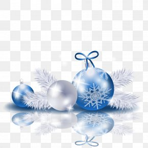 Christmas - New Year Christmas Ornament Clip Art PNG