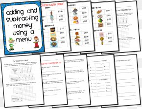 Pizza Parlors - Adding And Subtracting Subtraction Addition Mathematics Menu PNG