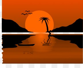 Sunset Cliparts - Sunset Free Content Blog Clip Art PNG