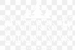 Merry Christmas White Transparent Clip Art - Black And White Angle Point Pattern PNG