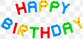 Happy Birthday Transparent Clip Art Image - Birthday Cake Clip Art PNG