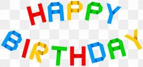 Happy Birthday Transparent Clip Art Image - Birthday Cake Clip Art PNG