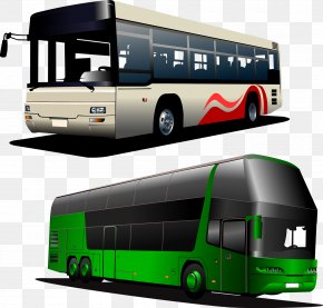 Bus - Tour Bus Service Coach Clip Art PNG
