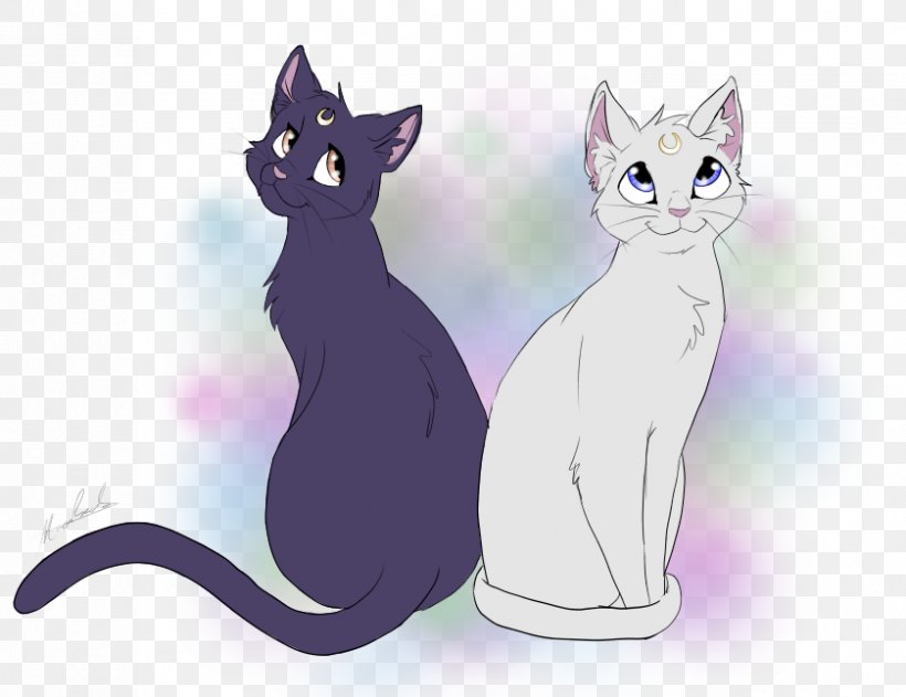 Whiskers Luna Artemis And Diana Sailor Moon Kitten Png