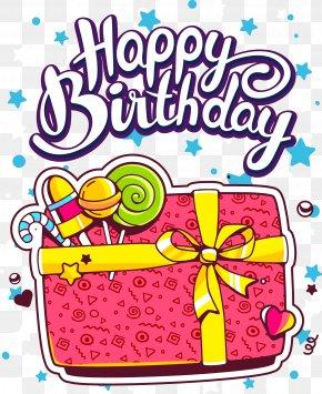 Birthday Present - Birthday Cake Happy Birthday To You Greeting Card PNG