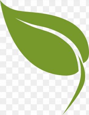 Plant Logo - Green Leaf Logo Plant Line PNG