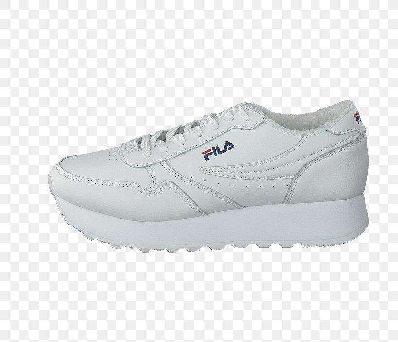 Sneakers Shoe Wedge White Fila, PNG