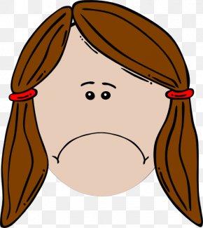 Sad Monkey Cliparts - Brown Hair Black Hair Blond Clip Art PNG