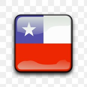 Cl Cliparts - Flag Of Chile Euclidean Vector PNG