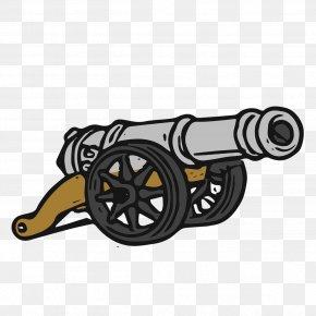 Auto Part Gun - Gun Cartoon PNG