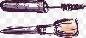 Makeup Brushes Vector - Makeup Brush Cosmetics Make-up PNG