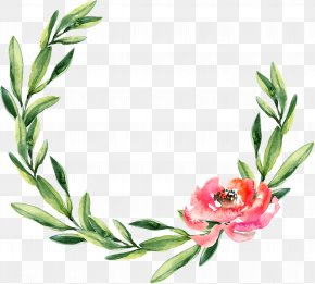 Cactus Watercolor - Wreath Watercolor Painting Wedding Garland Christmas PNG