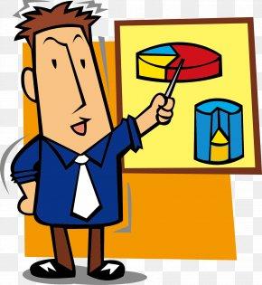 Cartoon Teaching Teacher Picture Vector - Teacher Middle School PNG