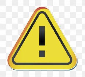 Symbol Signage - Alert Icon PNG