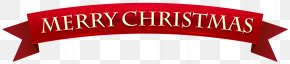 Holiday Banners - Christmas Banner Paper Clip Art PNG