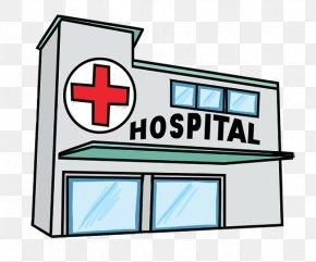 Cliparts Building Center - Hospital Patient Free Content Clip Art PNG