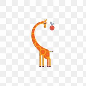 Cartoon Giraffe - Northern Giraffe Illustrator Illustration PNG