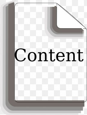 Content Cliparts - Table Of Contents Download Clip Art PNG