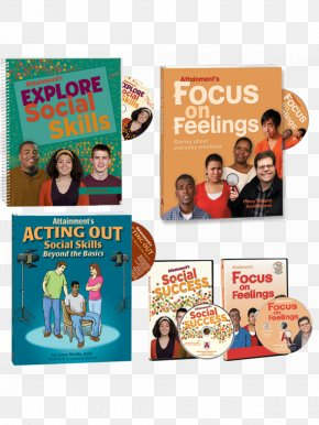 Social Skills - Focus On Feelings Introductory Kit Read To Learn Blended Curriculum NY Advertising Book Learning PNG